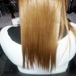 po zabiegu - włosy jasne