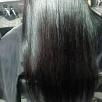 po zabiegu - włosy ciemne