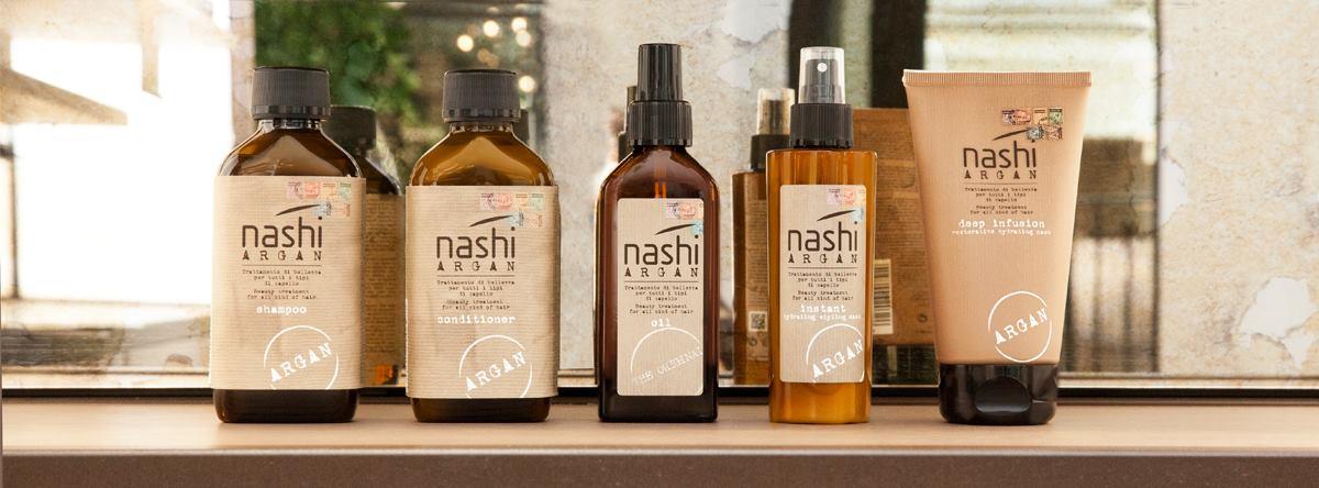 Kosmetyki i zabiegie fryzjerskie NASHI Argan Oil